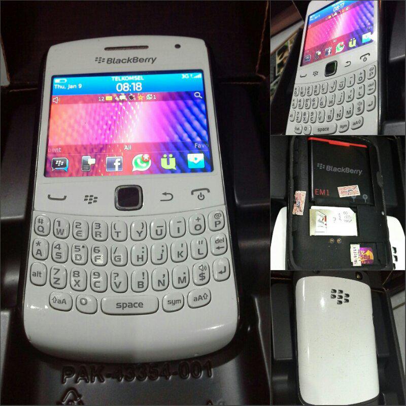 Blackberry Appolo 9360 White ex Wii