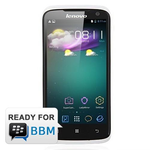 Lenovo S820 - White | Quad-core 1.2 GHz MTK 6589W, Android 4.2 J