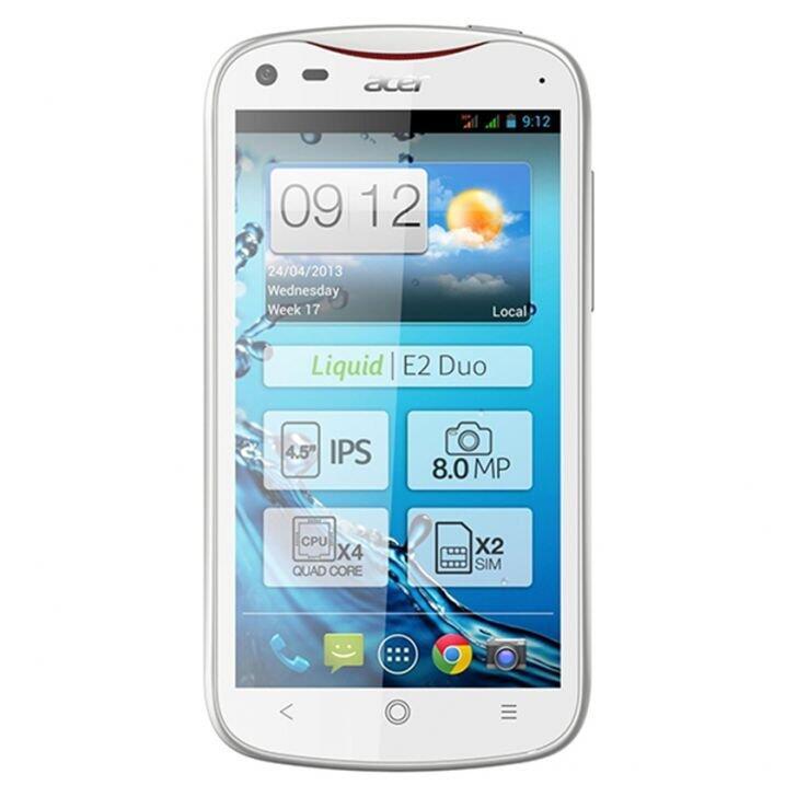 Smartphone Acer V 370 Liquid E2 - Putih