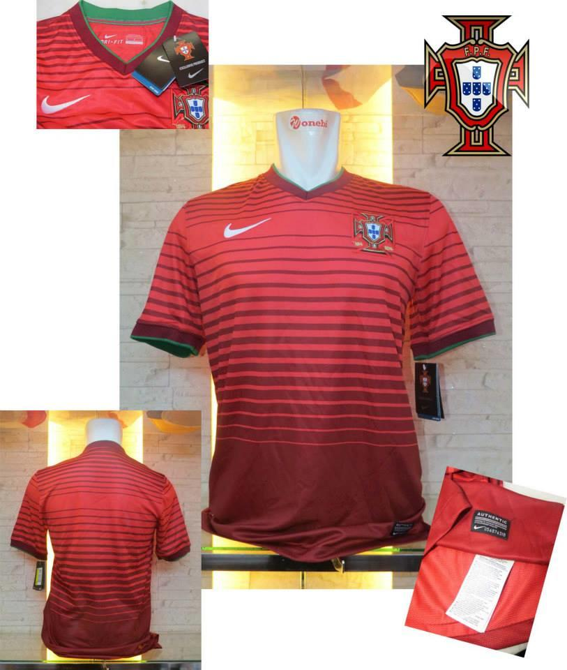 JERSEY PORTUGAL HOME WORLD CUP 2014 NEW OFFICIAL