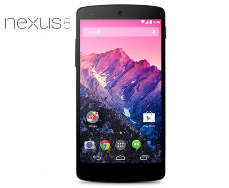 LG Nexus 5 D821 16GB 2GB RAM Quad-core 2.3GHz 8MP Android Black