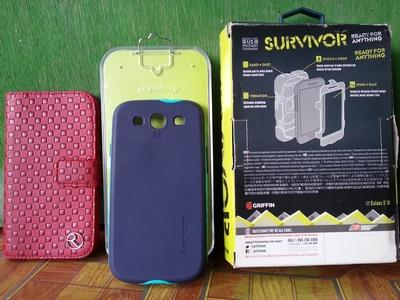 Galaxy S3 III case [Griffin SURVIVOR] [Spigen] [Flipwallet] Original