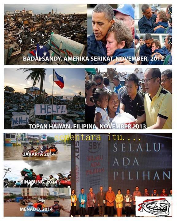 Ini yang di lakukan presiden Amrik, filipina, dan INDONESIA