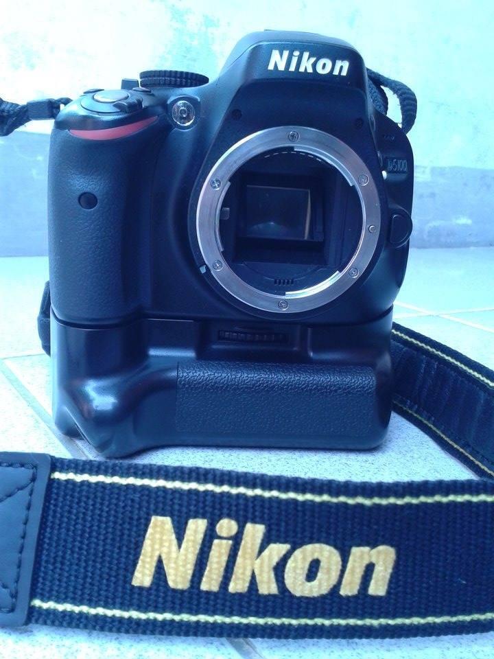 Dslr Nikon D5100 18-55 VR Kit