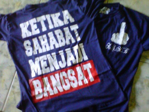 [TREND] PESAN/SLOGAN di kaos abg INDONESIA (sedikit 17+)