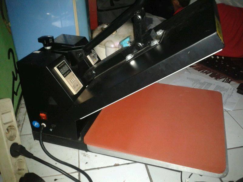 mesin heat press sablon 38x38