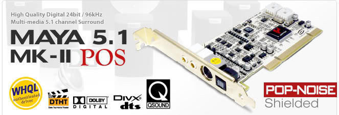 [ZENAUDIO] AUDIOTRAK SoundCard & Amplifier Maya, Prodigy, Zeni, ImAmp, Dr.DAC2 DX BNI