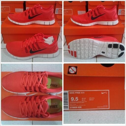 Jual sepatu futsal bola running casual Nike Adidas 100% original
