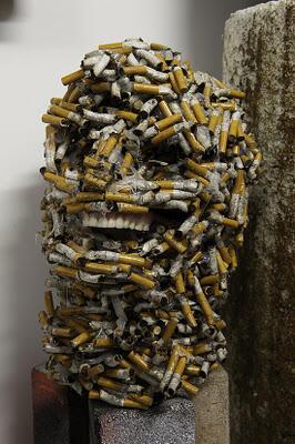 Karya Seni Menakjubkan Dari Rokok