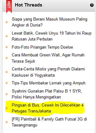 Pingsan di Bus, Karyawati Dilecehkan Empat Petugas TransJakarta