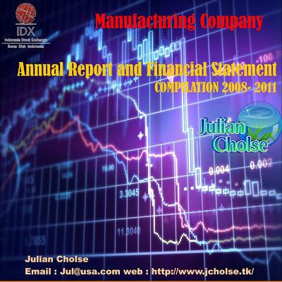 Annual Report dan Laporan Keuangan Perusahaan Manufaktur Tahun 2008 - 2012
