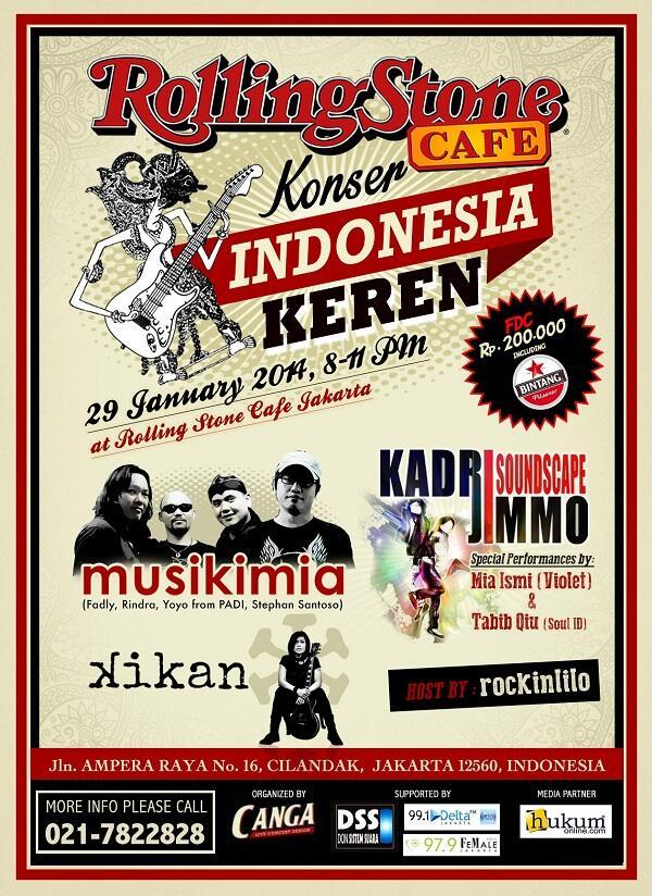 Tiket Konser Indonesia Keren Dari Hukumpedia