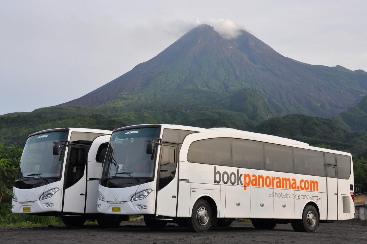 Sewa Bis Pariwisata Panorama & Whitehorse Yogyakarta