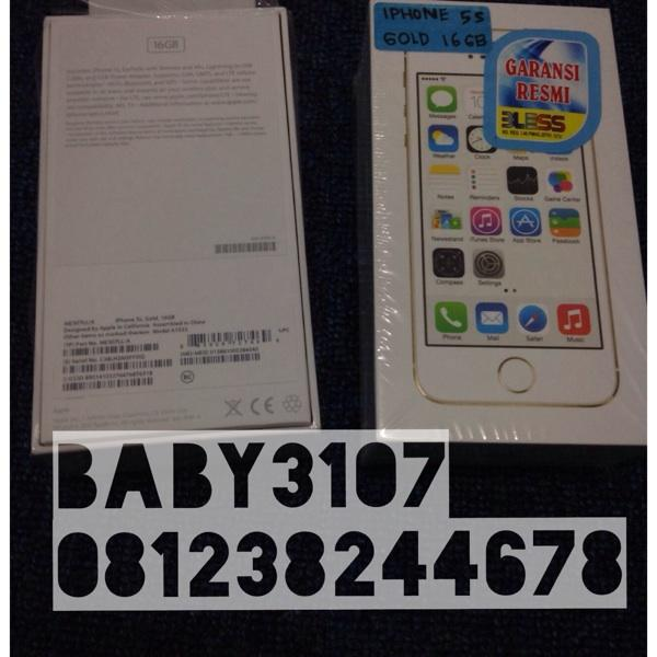 Jual Real Iphone 5S Gold