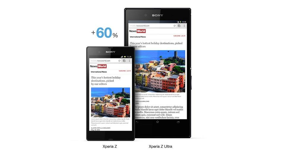 [OFFICIAL LOUNGE] Sony Xperia Z Ultra - BIG SCREEN BIG ENTERTAINMENT