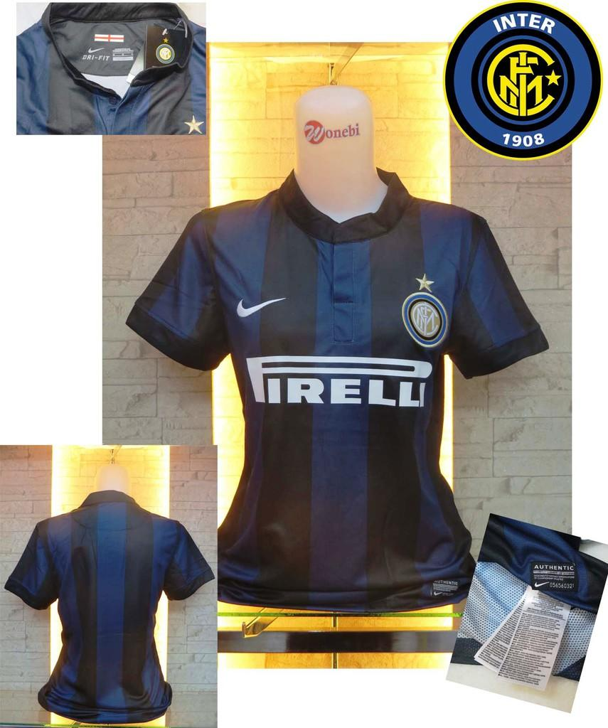 JERSEY INTER MILAN LADIES HOME NEW OFFICIAL GO