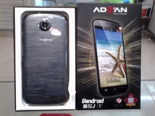 Terjual Advan Vandroid S5j Quad Core