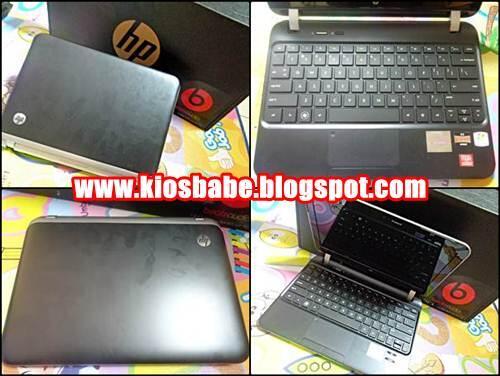 Netbook Bekas HP DM 1 - VGA Ati Radeon | Malang