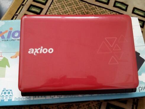 netbook axioo pico cjm atom d2500 320 2g garansi resmi