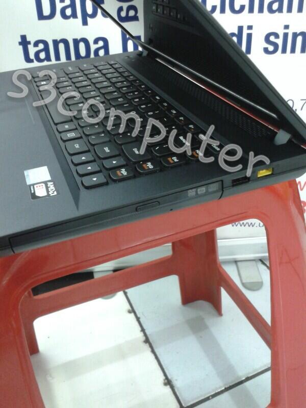 "GAMING MURAH..Lenovo IdeaPad G405 AMD E1-2100 |320gb HDD|2gb ddr3 | 14"" display | DOS"