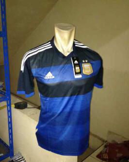 Jersey Argentina Home dan Away WC 2014
