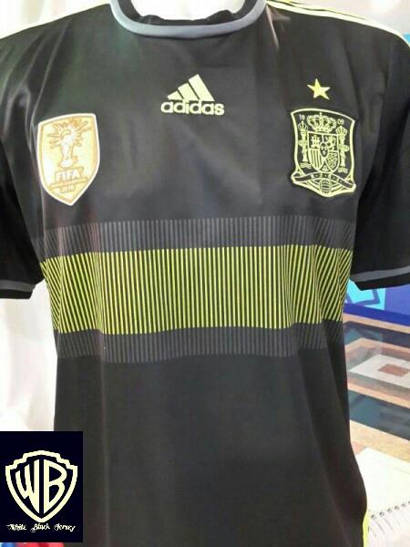 Jersey Spanyol Home dan Away WC 2014