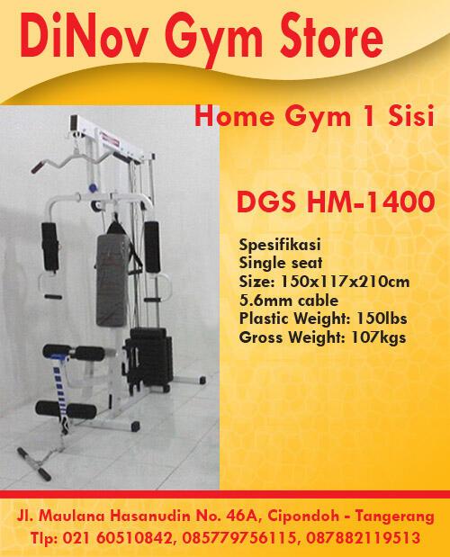 HomeGym 1sisi T-1400