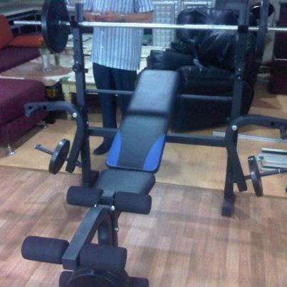 Bench Press Full Shett + Beban 40kg