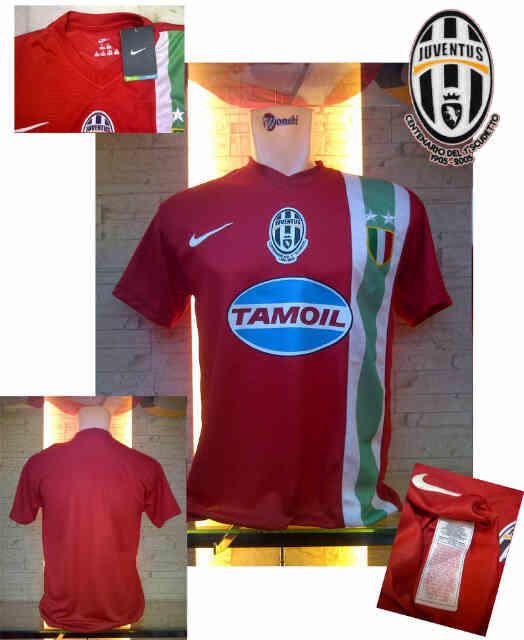JERSEY JUVENTUS AWAY 2005 CENTENARY 2ND SCUDETTO