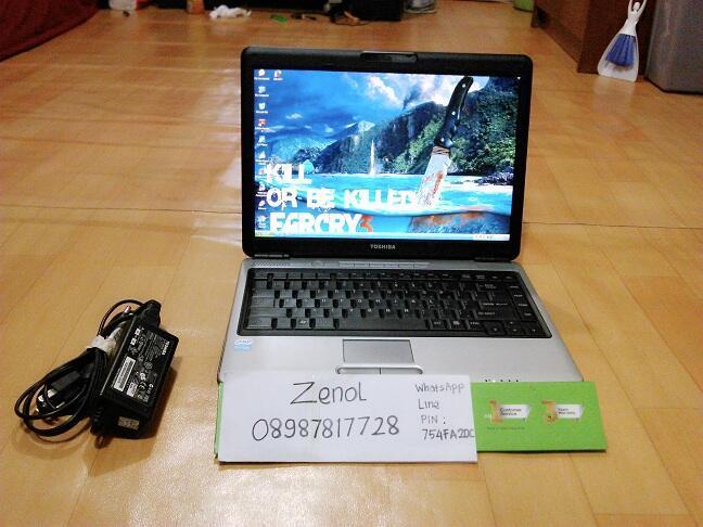 Toshiba L310 Kondisi Muluss Bandung