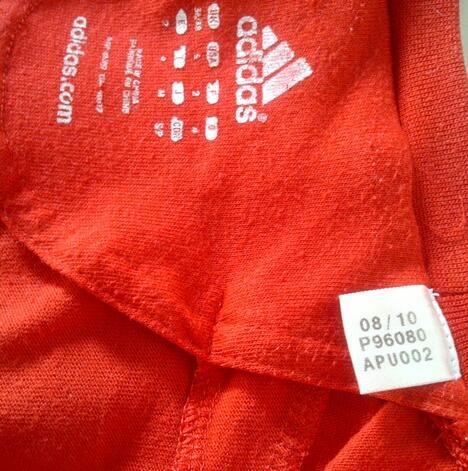 Jersey ac milan 2010 2012 & tshirt