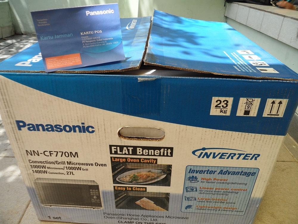 Terjual 2nd Mcrowave Panasonic Nn Cf770m Convection Grill