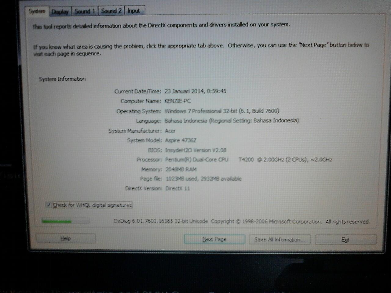 DijuaL Acer 4736z Mulus n Muraaah Beuud.....!!!