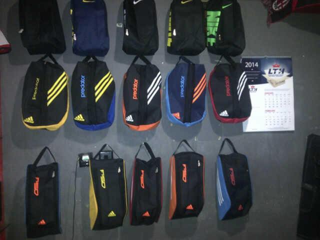 Tas Sepatu Futsal Sepak Bola Soccer Basket Nike Adidas GO Murah