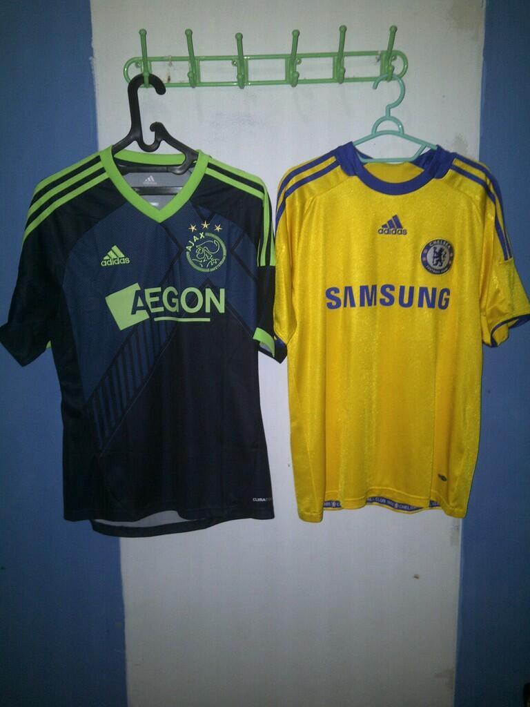 Jersey ajax dan Chelsea Original