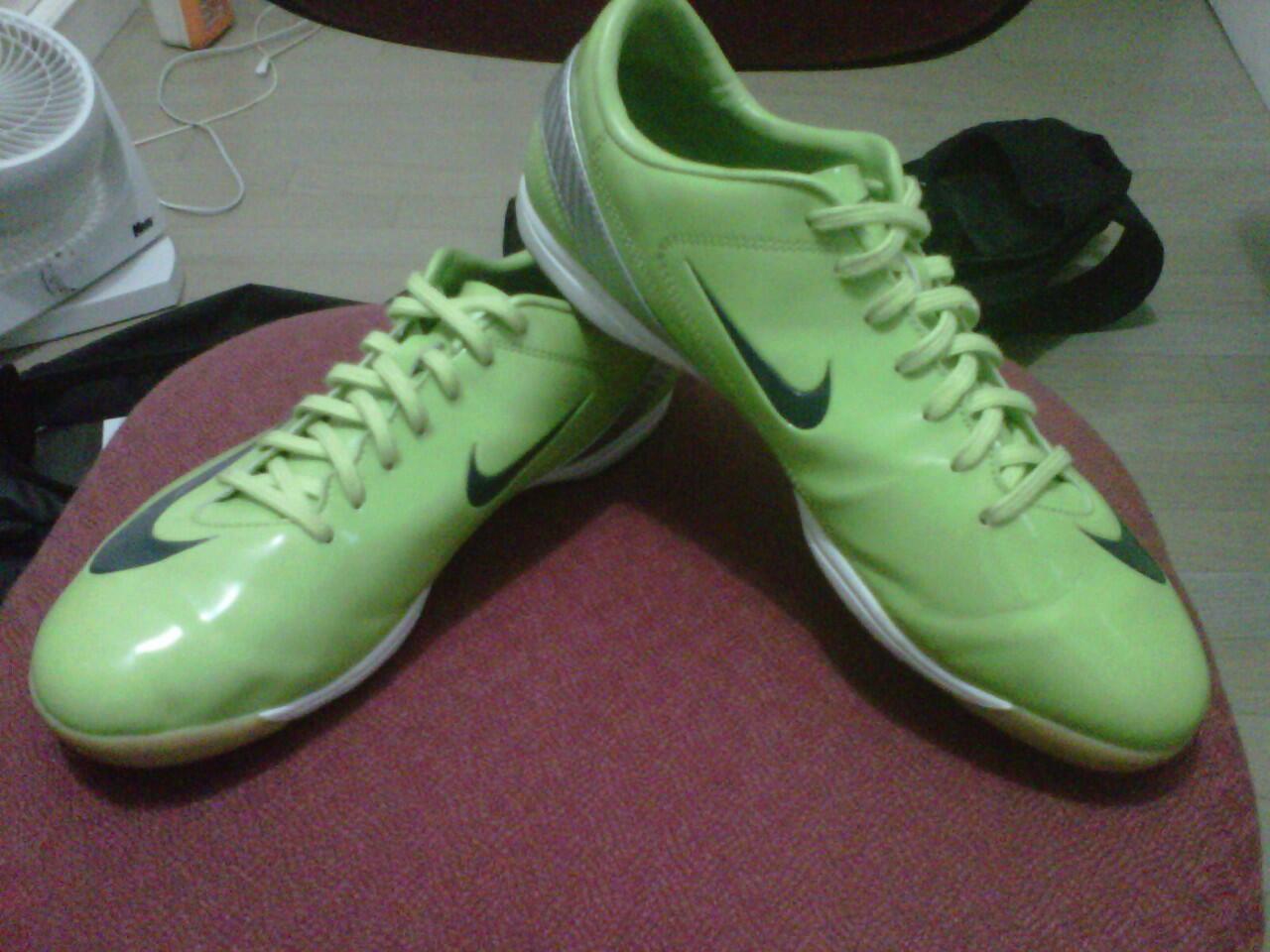 sepatu futsal Nike Mercurial Veloci Citroen IC Rare size 45 ORIGINAL