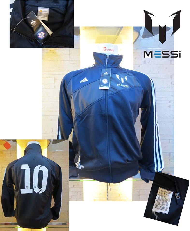 JAKET LIONEL MESSI BLACK NEW GO