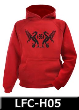 [Ready Stock] Hoodie Bola 100% Cotton Fleece, Velvet Printing