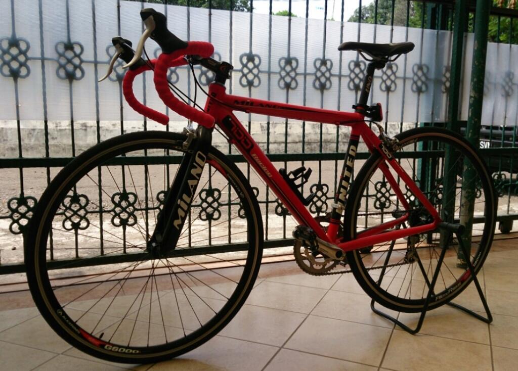 JUAL Road Bike United Milano
