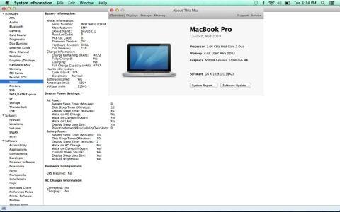 "Jual Macbook Pro 13"" 2.66ghz C2D Mulus & Lengkap"