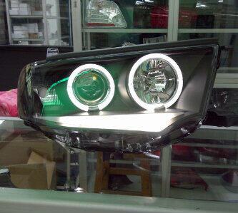 HEAD LAMP PAJERO SPORT LED BAR