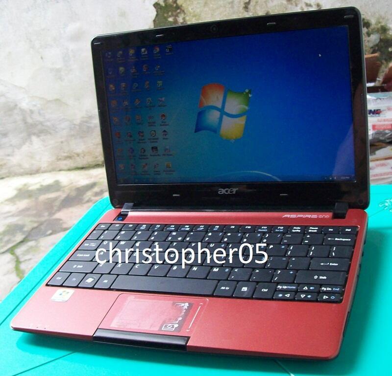 [Bandung] Netbook Light Gaming Acer 722, AMD C60, 2GB, 500GB, bisa PES, Mulus