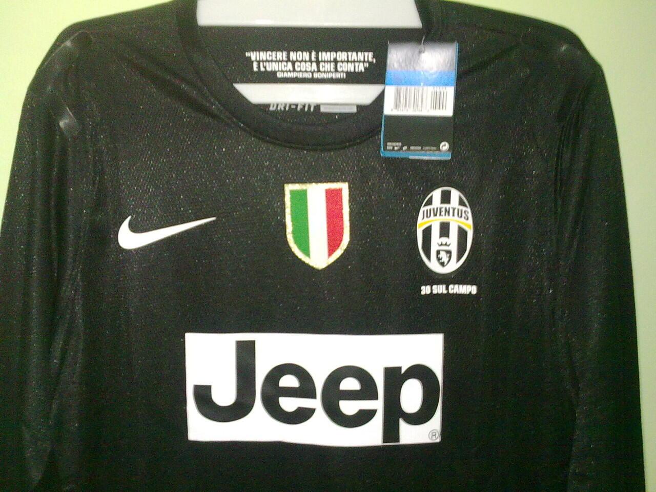 Jersey Grade Ori Longsleeve Player Issue Juventus Away 2012/2013