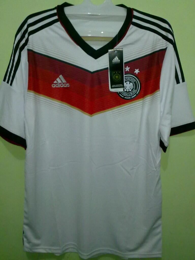 Jersey Grade Ori Germany / Jerman Home World Cup 2014