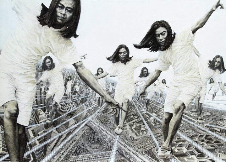Veri Apriyanto!! Drawing Pencil Art Indonesia yang Mendunia