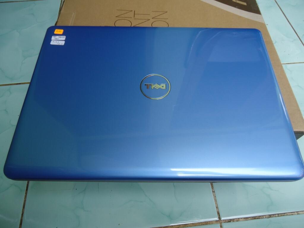 Dell Inspiron 1440 Dual Core Warna Biru Keren