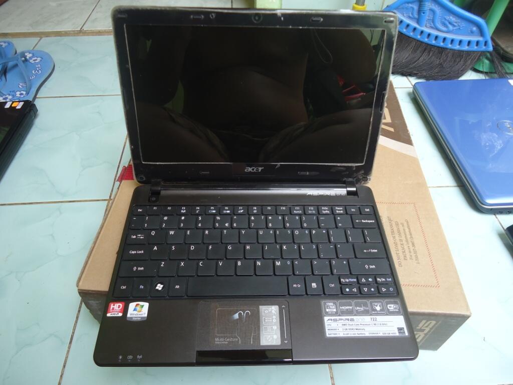Acer Aspire One Ao722 Warna Hitam