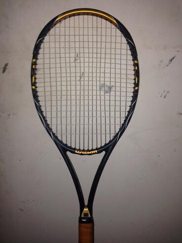 jual raket tennis ex pemakaian pribadi