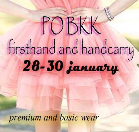 PO BKK FIRSTHAND SUPPLIER 28-31 JANUARI 2014