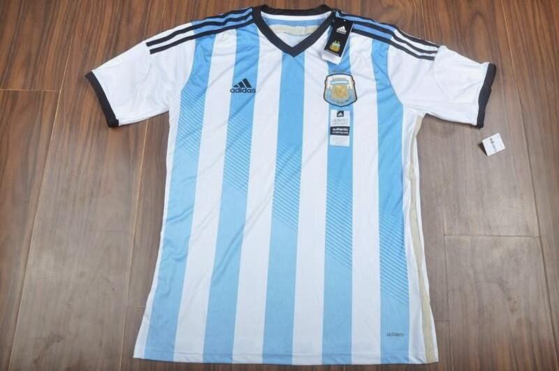 Jual jersey Argentina Adizero World Cup 2014 kualitas Grade ori wilayah Jogja